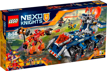 Конструктор Lego NEXO KNIGHTS БАШЕННЫЙ ТЯГАЧ АКСЕЛЯ 70322 lepin nexo knights axl glob lobber combination marvel building blocks kits toys compatible legoe nexus