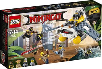 Конструктор Lego NINJAGO Бомбардировщик ''Морской дьявол'' 70609-L