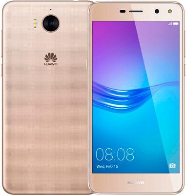 Мобильный телефон Huawei Y5 2017 золотистый смартфон huawei y5 2017 золотистый