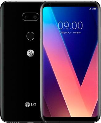 Мобильный телефон LG LG V 30+ черный lg v k89301hq