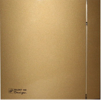 Вытяжной вентилятор Soler amp Palau Silent-100 CZ Design 4C (золото) 03-0103-185 soler and palau silent 100 cz design 3с