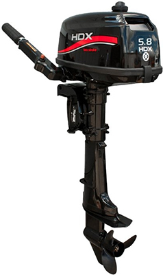 Мотор лодочный HDX R series T 5 8 BMS 94150 цены онлайн