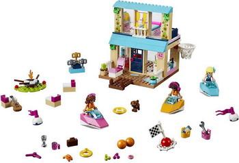 Конструктор Lego Juniors: Домик Стефани у Озера 10763 lego juniors оборона бэтпещеры™