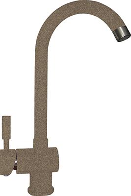 Кухонный смеситель Florentina FL-04 Альфа цвет коричневый цена