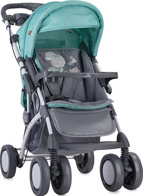 Прогулочная коляска Lorelli Toledo  накидкой  ножки Серо-зеленый Grey&Green Bunnies 1837 10021201837
