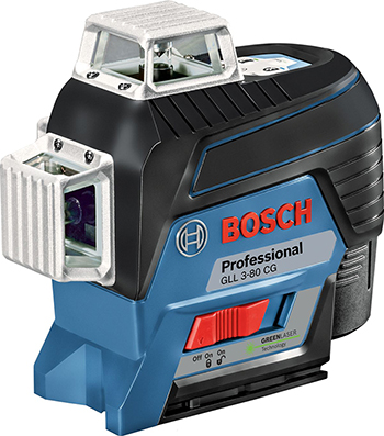 Лазерный нивелир Bosch GLL 3-80 CG BM1 12 V L-boxx 0601063 T 00 уровень bosch gll 3 80c вкладка l boxx 0 601 063 r00