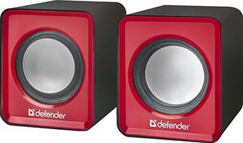 Акустическая система 2.0 Defender SPK 22 красный 65502 акустическая система 2 0 spk 22 black 65503 defender