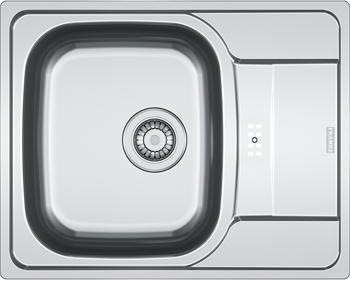 Кухонная мойка FRANKE POLAR нерж PXL 614-60 101.0192.909 franke pxl 611 60 нерж сталь зеркальная