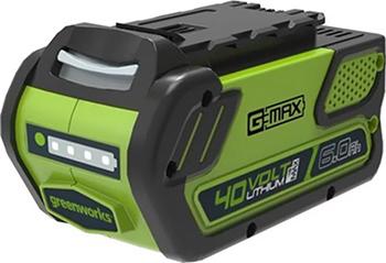 Аккумулятор Greenworks G 40 B6 2923307 аккумулятор greenworks g80b2