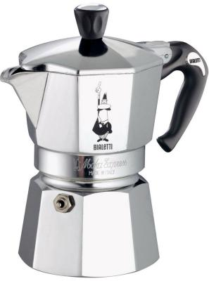 Bialetti Moka express 4 п. 1164 гейзерная кофеварка bialetti moka express 4 порции 1164