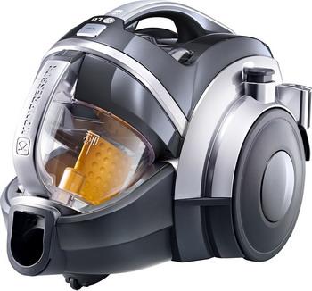 Пылесос LG VK 89304 H серебристый пылесос с контейнером для пыли lg vc53001kntc