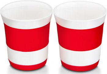 Набор стаканов Oursson TW 89558/RD кухонные весы oursson ks5009gd rd