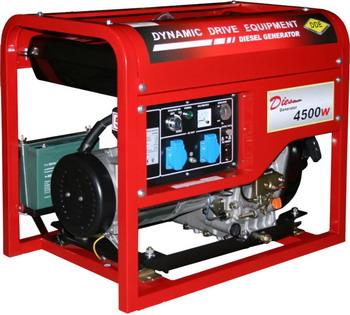 Электрический генератор и электростанция DDE DDG 6000 E головка dde гм 50