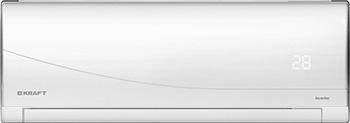 Сплит-система Kraft KF-CSI-35 GW/B 12000 BTU INVERTER (белый) холодильник kraft kf f2661nfl