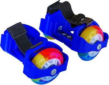 Детские роликовые коньки Moby Kids 2 колеса свет синие
