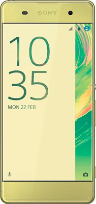 Мобильный телефон Sony Xperia X Lime Gold sony xperia x performance rose gold