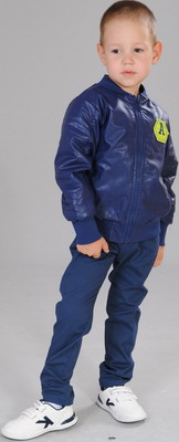 Куртка Fleur de Vie Арт. 14-9273 рост 98 синий пальто fleur de vie fleur de vie mp002xg002gn