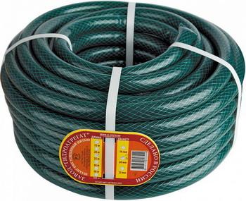 цены Шланг садовый DELTA Гидроагрегат д.12мм (25м) прозрач. зеленый