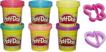 Пластилин Hasbro Блестящая коллекция A 5417 PLAY-DOH hasbro play doh a5417 набор из 6 баночек блестящая коллекция