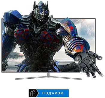 QLED телевизор Samsung QE-65 Q7FAMUXRU greys qe 005