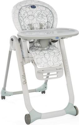 Стульчик для кормления Chicco POLLY Progres5 Sage 07079336760000 chicco стульчик для кормления polly progres5 5 в 1 2 колеса