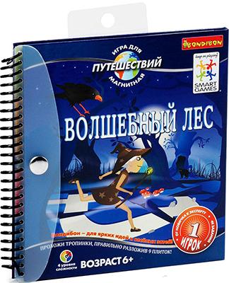 Логическая игра Bondibon Магнитная игра для путешествий Волшебный лес ВВ0886 игра bondibon детектор лжи вв2110