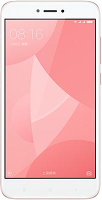 Мобильный телефон Xiaomi Redmi 4X 16 Gb розовый защитное стекло xiaomi redmi 4x