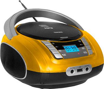 Магнитола Telefunken 245292магнитола Telefunken TF-CSRP 3448 желтый