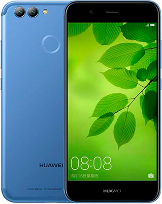 Мобильный телефон Huawei Nova 2 4/64 синий аксессуар чехол huawei nova zibelino classico black zcl hua nov blk
