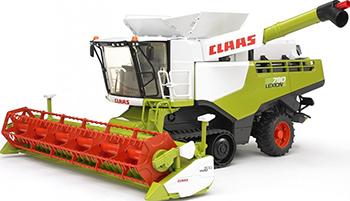 Комбайн Bruder 02-119 Claas Lexion 780 трактор bruder claas axion 950 03 013