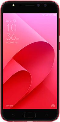 Мобильный телефон ASUS ZenFone 4 Selfie Pro ZD 552 KL-5C 066 RU 4GB (90 AZ 01 M9-M 01020) красный asus z 380 c 1a 087 a 90 np 0221 m 02670