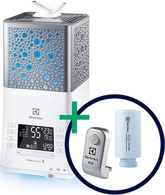 Увлажнитель воздуха Electrolux Комплект: увлажнитель ультразвуковой EHU-3815 D IQ-модуль Smart Eye EHU/SM-15 экофильтр-картридж 3