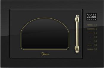 Встраиваемая микроволновая печь СВЧ Midea MI 9252 RGB-B lg mb65w95gih white свч печь с грилем