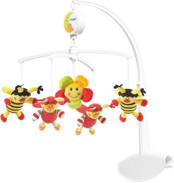 Мобиль BabyOno Божьи коровки babyono жираф желтый