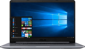 Ноутбук ASUS VivoBook X 510 UQ-BQ 297 T (90 NB0FM2-M 09900) серый joye 510 t аккумулятор емкостью 340mah в украине