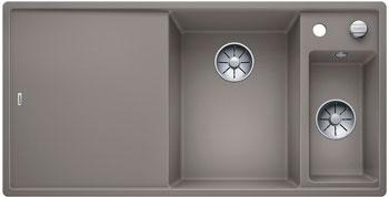 Кухонная мойка BLANCO AXIA III 6 S InFino Silgranit серый беж (столик ясень) 523469 кухонная мойка blanco axia iii xl 6 s infino silgranit мускат столик ясень 523508