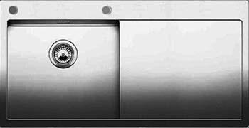 Кухонная мойка BLANCO CLARON 5S-IF/А (чаша слева) нерж. сталь зеркальная полировка 521626 иваницкая з д самусев р п русско испанско английский словарь по морфологии человека