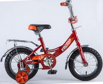 Велосипед Novatrack 12 VECTOR красный 123 VECTOR.RD8 велосипед novatrack 143 vector rd5 14 vector красный