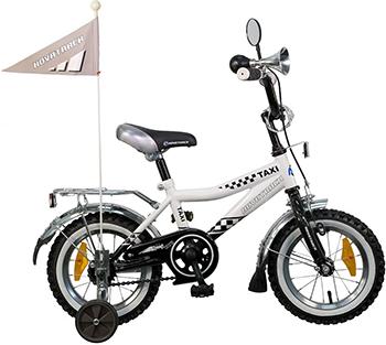 Велосипед Novatrack 12'' Такси  черн/белый 127 TAXI.WT5 велосипед novatrack boister 12 2015 blue 125boister bl5