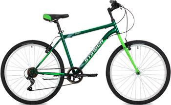 Велосипед Stinger 26'' Defender 20'' зеленый 26 SHV.DEFEND.20 GN8 велосипед навигатор patriot цвет зеленый navigator