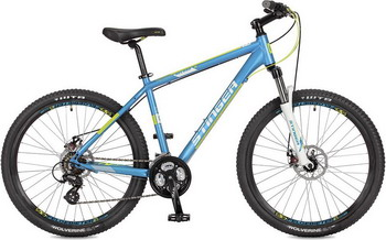 Велосипед Stinger 26'' Reload D 20'' синий 26 AHD.RELOADD.20 BL7 велосипед stinger reload sd 26 2017