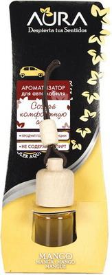 Ароматизатор AURA для автомобиля с ароматом индийского манго 6 мл стоимость