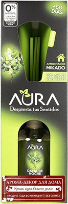Арома-диффузор AURA Mikado для жилых помещений с ароматом ночного жасмина 30 мл арома диффузор aura mikado для жилых помещений с ароматом цветущей вишни 30 мл