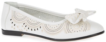 Туфли Зебра 10506-2 32 размер цвет белый mymei белый цвет
