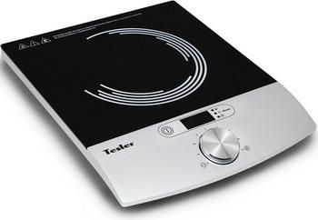 Настольная плита TESLER PI-17 черная индукционная электроплитка tesler pi 22 чёрный