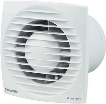Вытяжной вентилятор BLAUBERG Bravo 100 T белый