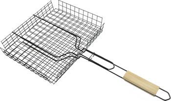 Решетка-гриль глубокая Теза ROYALGRILL 80-022 решетка гриль для мелких кусочков royalgrill глубокая 25 5 х 18 см