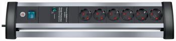 Сетевой фильтр Brennenstuhl Alu-Office-Line 3м 6 роз/заземл (1395000416) сетевой фильтр brennenstuhl super solid line 8 sockets 2 5m 1153340118