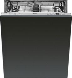 Полновстраиваемая посудомоечная машина Smeg STP 364 S вытяжка купольная smeg kt 110 s
