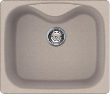 Кухонная мойка Smeg LSE 58 AV  овес (GRANITEK) кухонная мойка ukinox stm 800 600 20 6